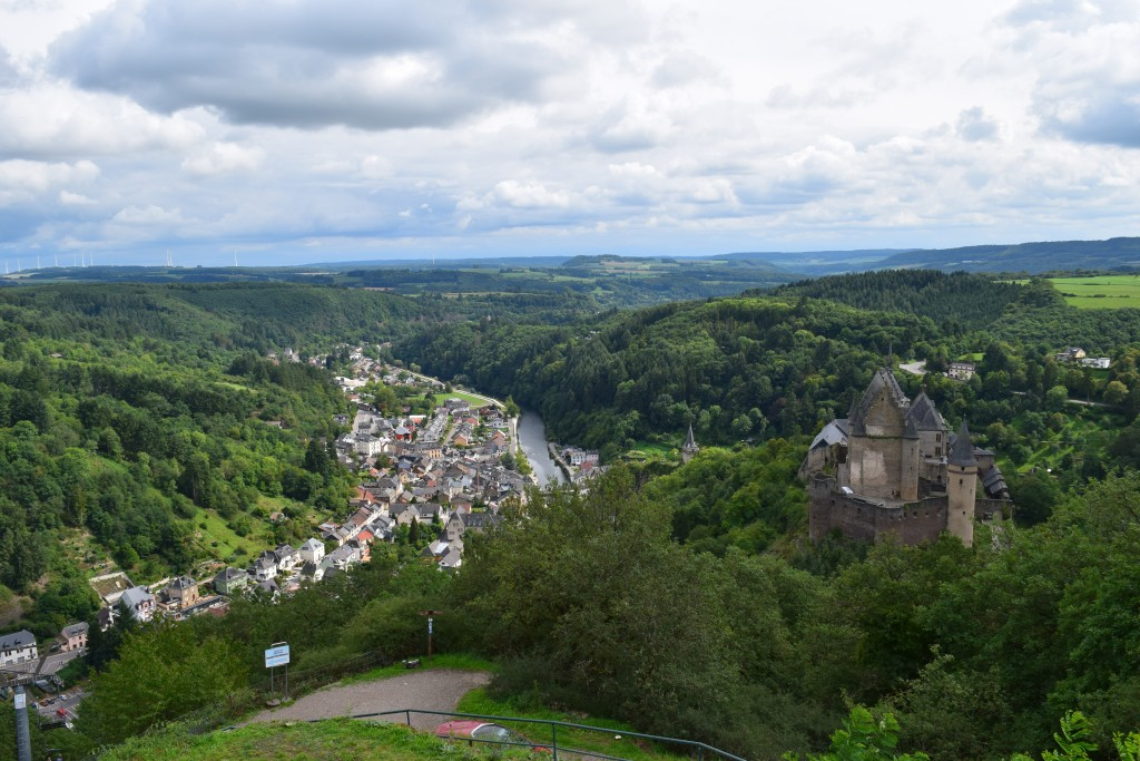 On the Road 2017, Vianden, Luxembourg, Vianden Castle