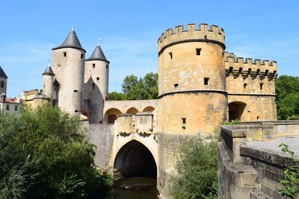 La Seille, Porte des Allemands, Metz, France
