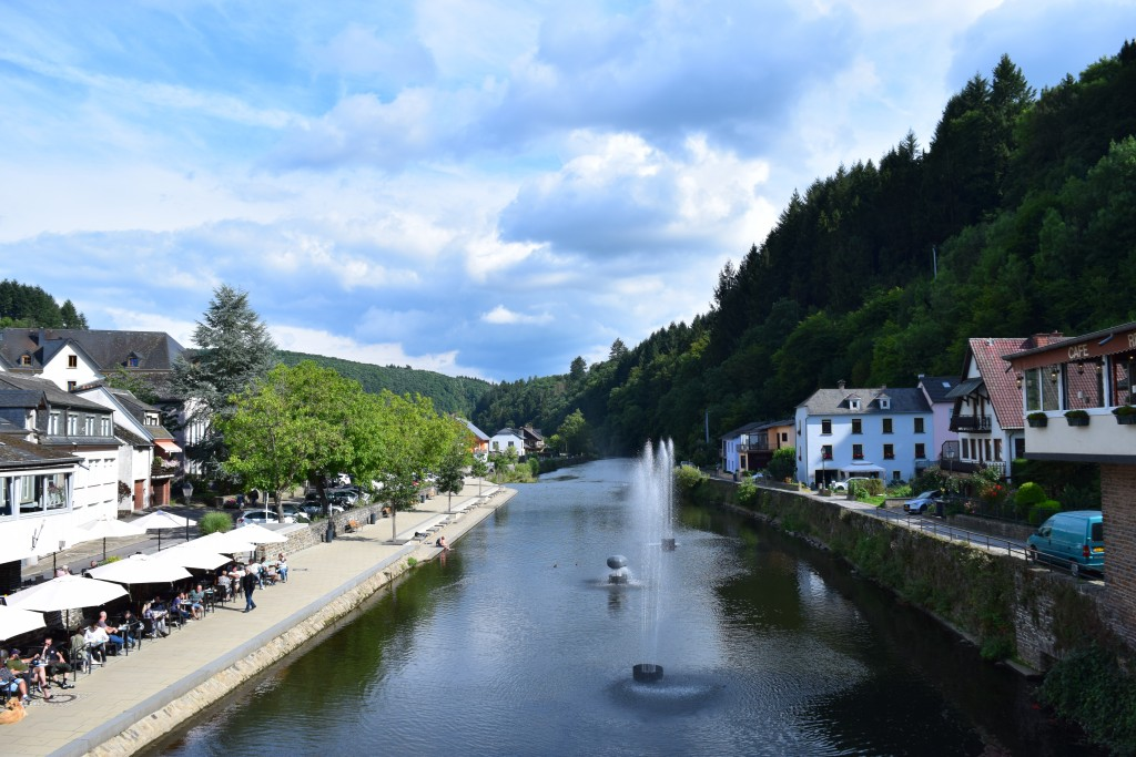 On the Road 2017, Vianden, Luxembourg, River Our