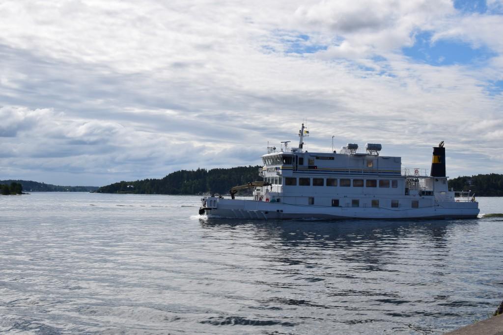 Vaxö, Ferry, Waxholmsbolaget, Vaxholm, Stockholm, Uppland, Exploring Sweden