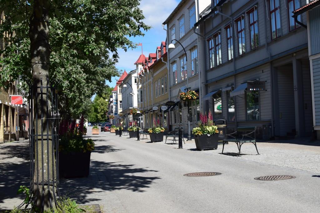 Hamngatan, Vaxholm, Stockholm, Uppland, Exploring Sweden