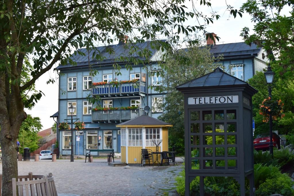 Telefon, Telefonbås, Telephone, Vaxholm, Stockholm, Uppland, Exploring Sweden