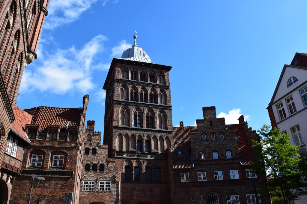 Lübeck, Germany, Burgtor, Große Burgstraße