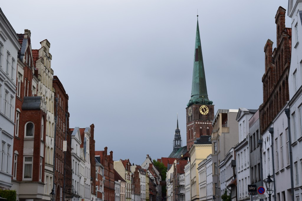 Lübeck, Germany, Sankt Jakobi, St. Jakobi Kirche zu Lübeck, Engelsgrube