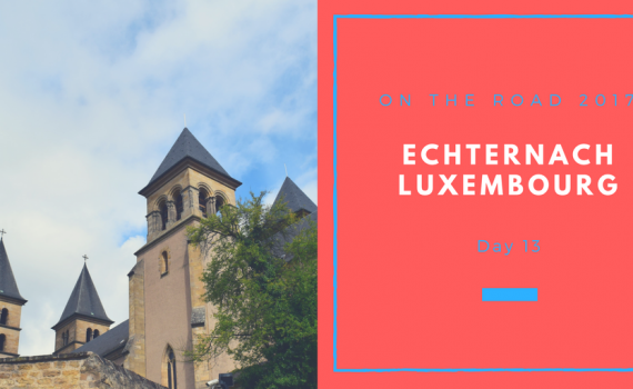On the Road 2017, Echternach, Luxembourg