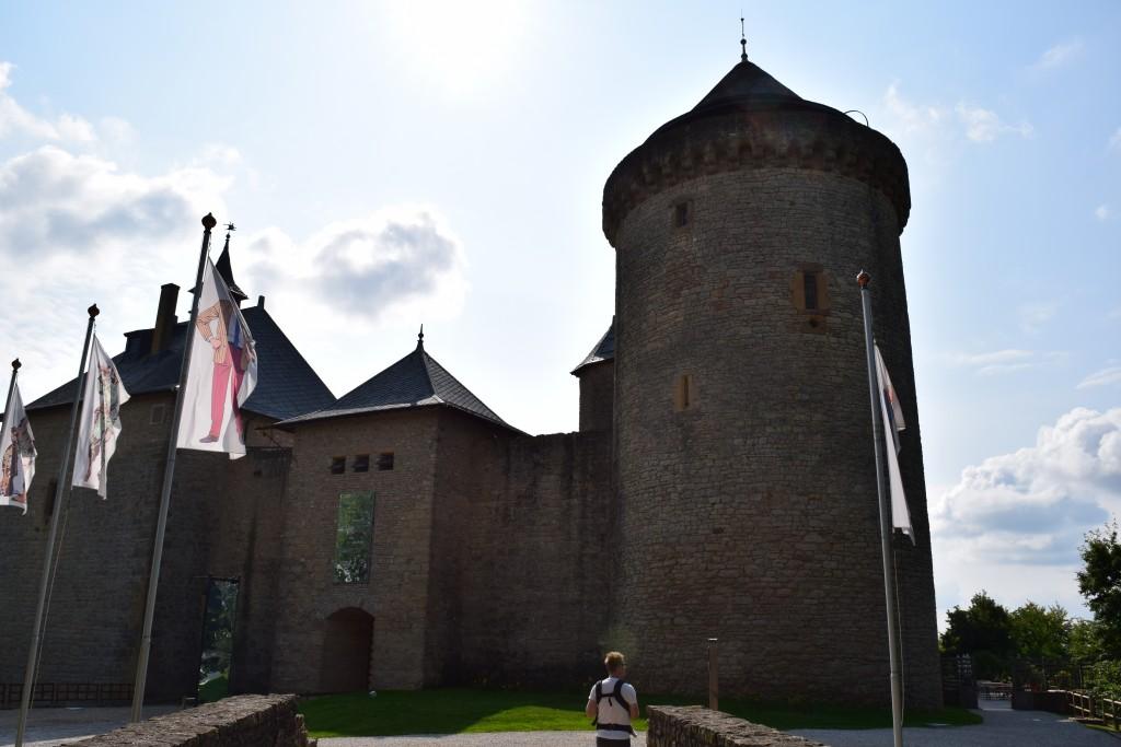Château de Malbrouck, Malbrouck Castle, Manderen, France