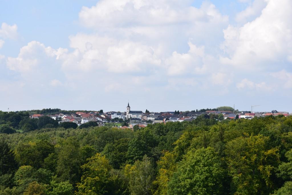 Orscholz, Aussichtspunkt Cloef, Saarschleife, Germany