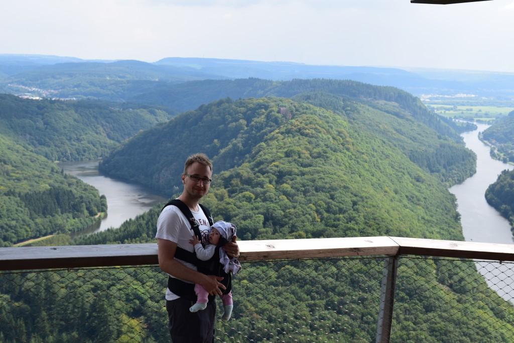Jesper, Little A, Orscholz, Aussichtspunkt Cloef, Saarschleife, Germany