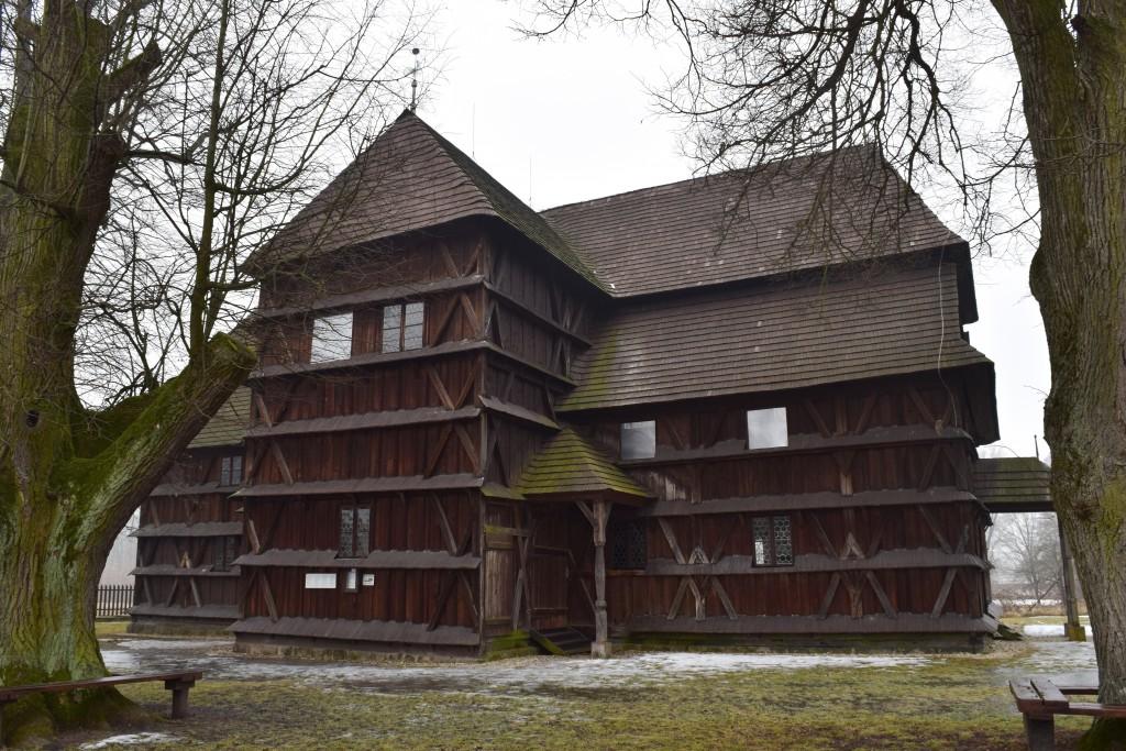 Hronsek, Exploring Slovakia, Articular wooden church of Hronsek, Artikulárny drevený kostol Hronsek