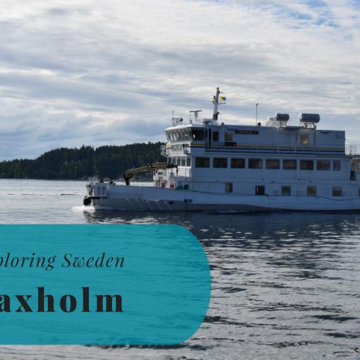 Exploring Sweden, Vaxholm, Uppland