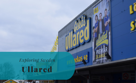 Exploring Sweden, Ullared, Halland