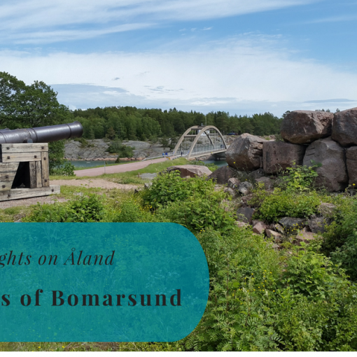 Fortress of Bomarsund, Sights on Åland, Sund, Bomarsundsfästning, Finland, Suomi