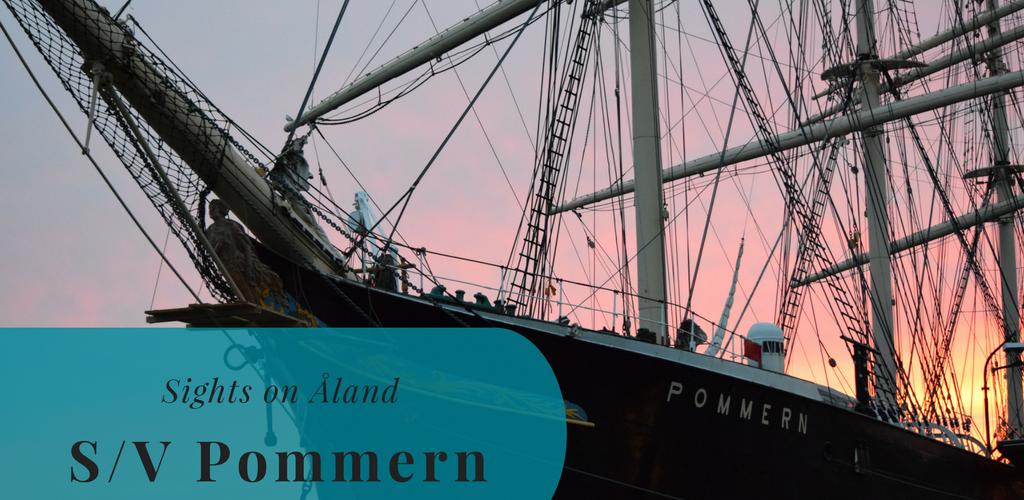 Sights on Åland, S/V Pommern, Mariehamn