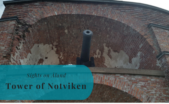 Tower of Notviken,, Sights on Åland, Sund, Notvikstornet, Finland, Suomi