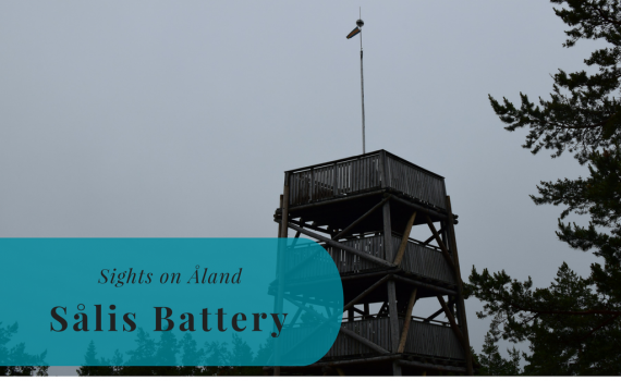 Sights on Åland, Sålis Battery, Sålis batteri, Finland, Suomi