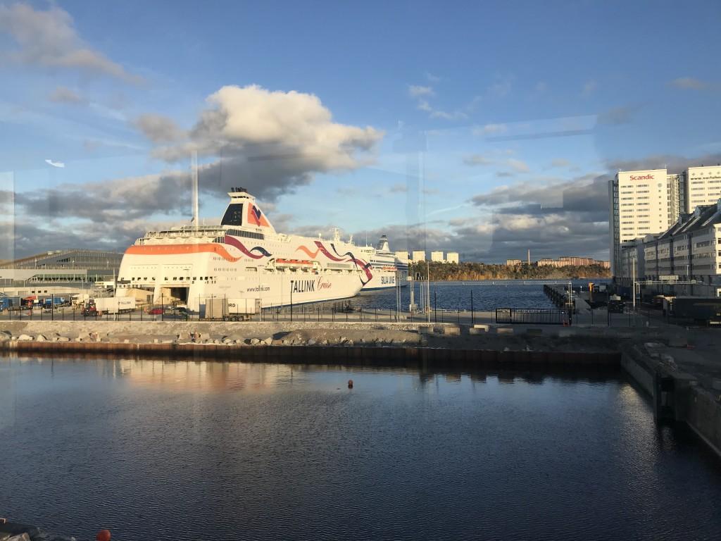 Värtahamnen, Stockholm, Tallink Silja Line, MS Baltic Queen, Tallinn, Estonia