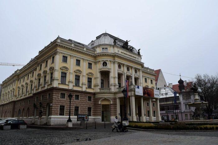 Old Slovak National Theater, Bratislava, Slovakia