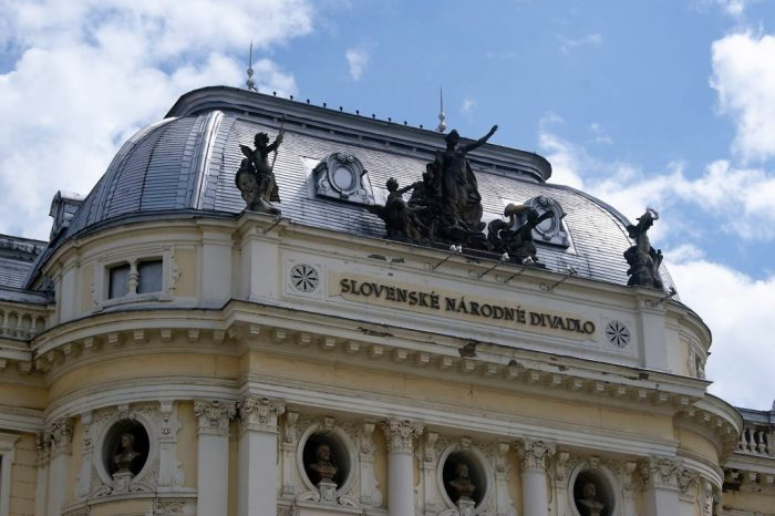 Sights in Bratislava – Old Slovak National Theater