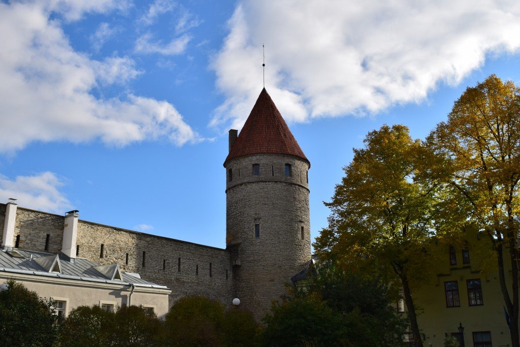 Vanalinn, Old Town, Tallinn, Estonia, City Wall