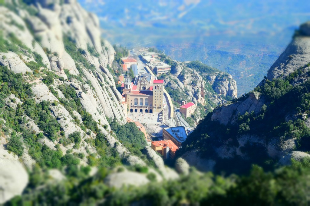 Montserrat, Catalonia, Spain, Mapping the Map