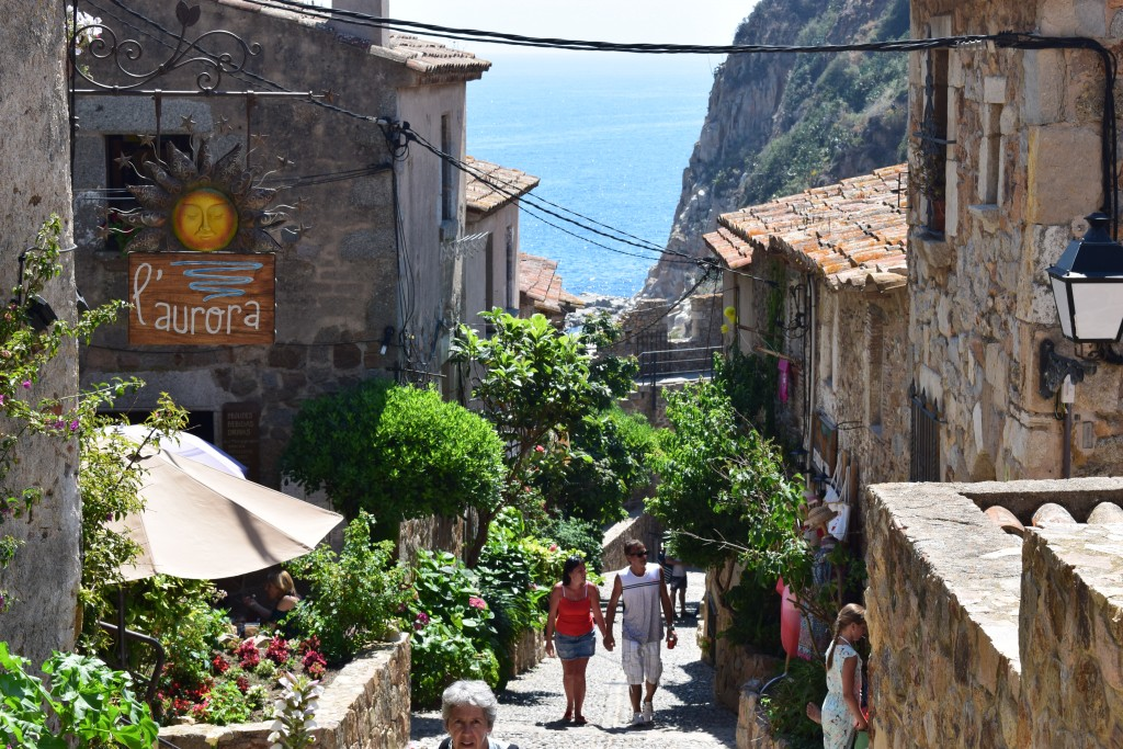 Tossa de Mar, Catalonia, Spain, Mapping the Map