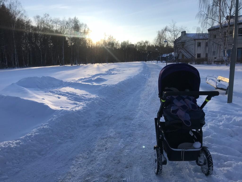 My Paternity Leave, Snowed In, Kista, Ärvinge, Snow, Stockholm, Sweden