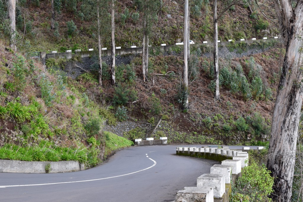 Driving on Madeira, Portugal