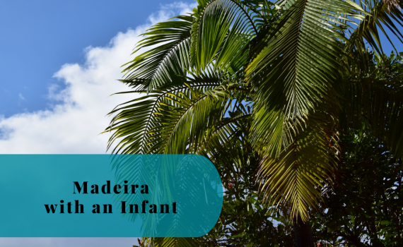 Madeira with an infant, Portugal