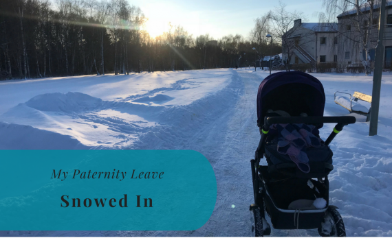 My Paternity Leave, Snowed In, Kista, Ärvinge, Snow, Stockholm, Sweden