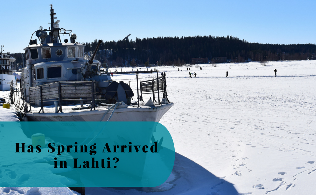 Has the Spring Arrived in Lahti?