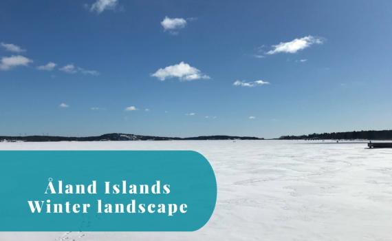 Åland Islands, Sunshine, Winter Landscape, Mariehamn