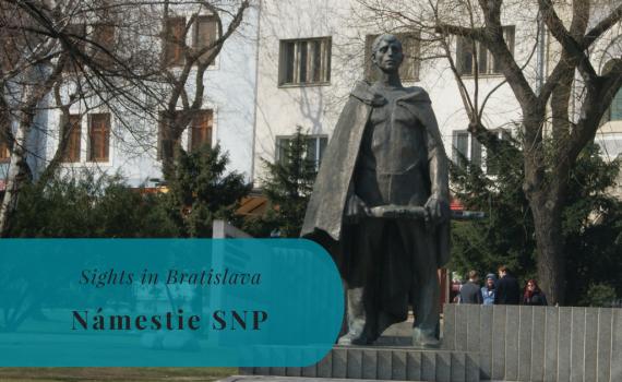 Námestie SNP, Sights in Bratislava, Slovakia